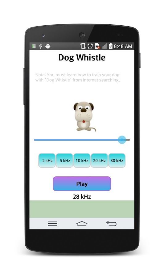 Dog whistle : Free - screenshot