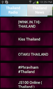 Thailand Radio and Newspaper