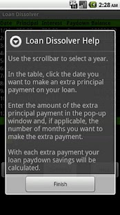 Loan Dissolver Lite- screenshot thumbnail