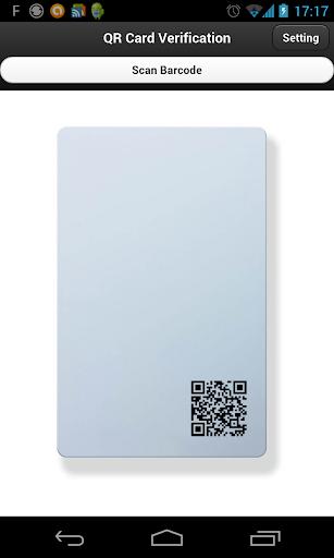QR Card Verification