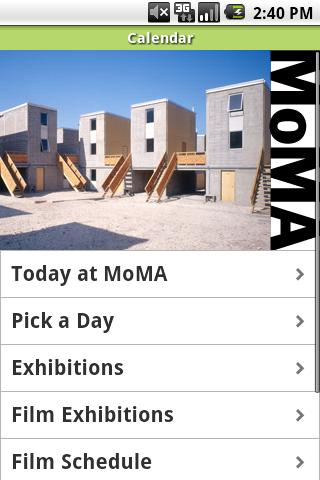 MoMA - screenshot