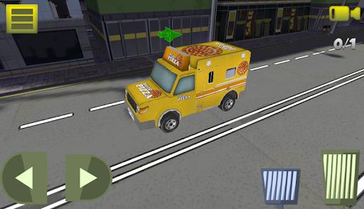 Pizza Delivery Truck Simulator