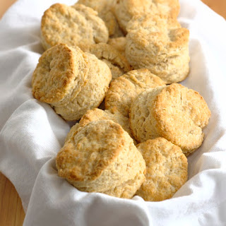 Whole Wheat Buttermilk Biscuits.