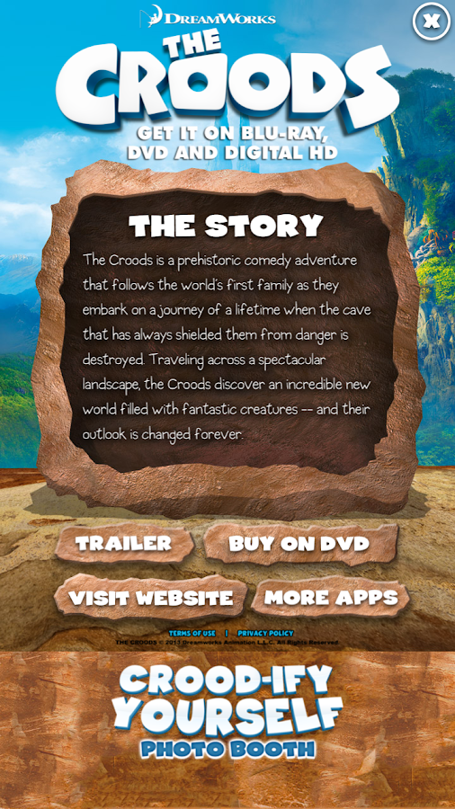 The Croods: Crood-ify Yourself - screenshot