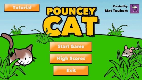 Pouncey Cat