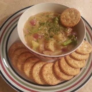 Broccoli Potato Soup.