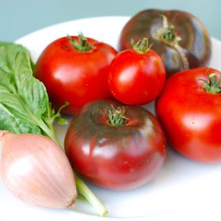 Tomato and Basil Salad.