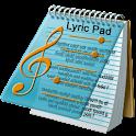 Lyric Pad FREE. logo