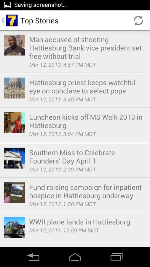 WDAM Local News - screenshot