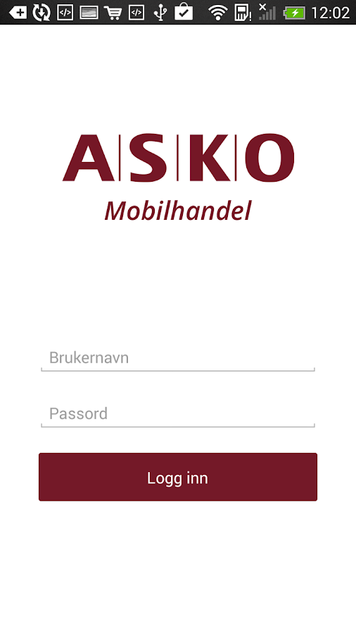ASKO Mobilhandel- screenshot