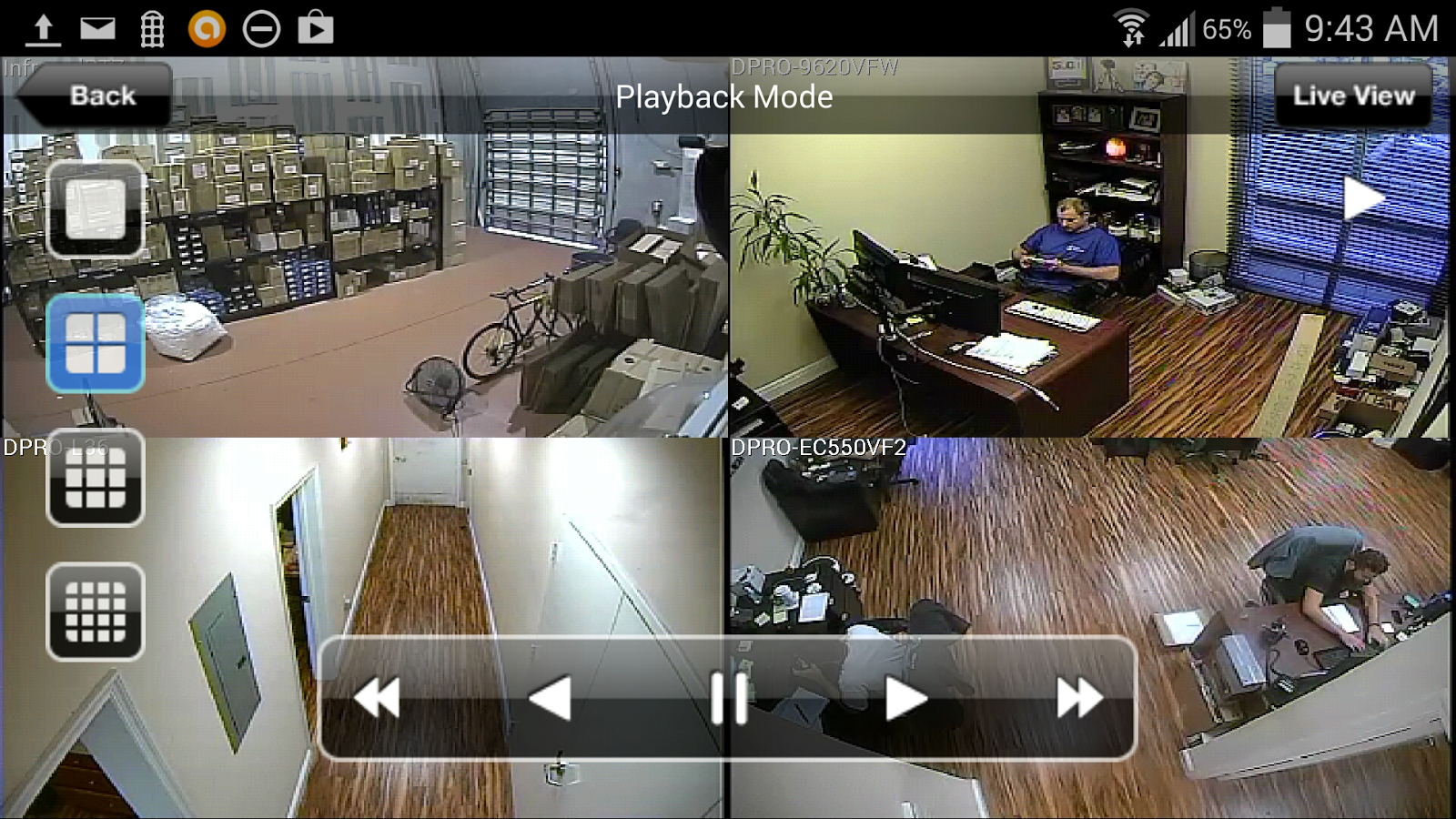 Idvr pro viewer cctv dvr app android apps on google play for Ip camera design tool