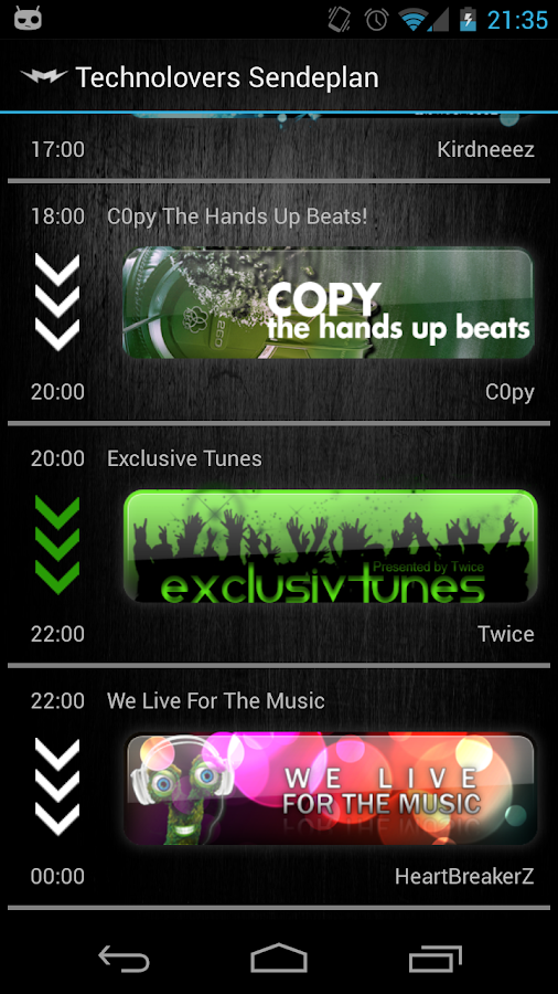 Musiclovers.FM Radio- screenshot