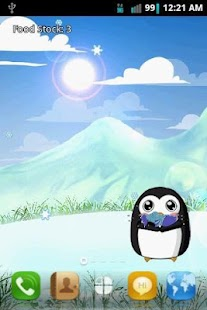 Penguin Pet LWP Free- screenshot thumbnail