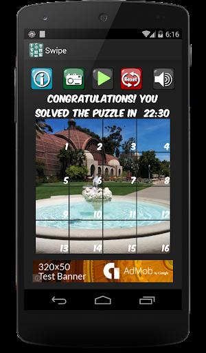 Swipe Puzzle