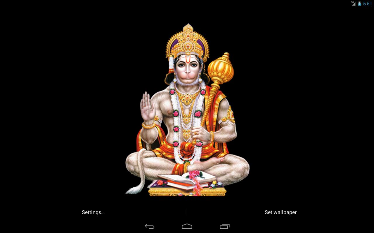 Lord Hanuman Sitting .Image