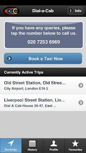 Dial-a-Cab - screenshot thumbnail