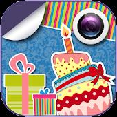 Birthday Emoticons Cam Effects