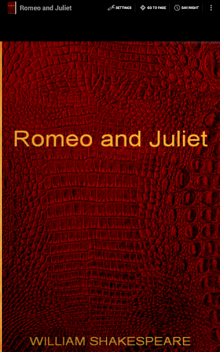 Romeo and Juliet English