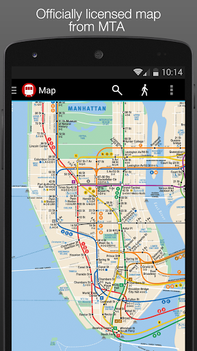 New York Subway Map NYC