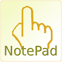 SVG handwriting notepad logo