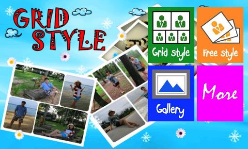 攝影必備APP下載|Grid Style Photo 好玩app不花錢|綠色工廠好玩App