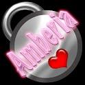 Amberia Name Tag logo
