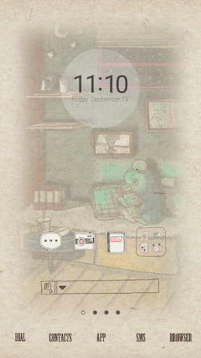 Movie dodol launcher theme