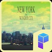 NEW YORK 런처플래닛 테마