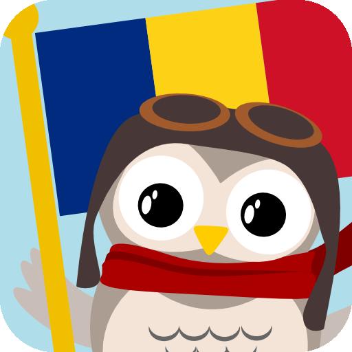 Gus on the Go: 子供にルーマニア語を 教育 LOGO-玩APPs
