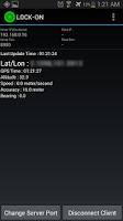 Screenshot of GPS Tether Server+