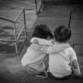 by Mark Andres - Babies & Children Children Candids ( black and white, b&w, child, portrait,  )