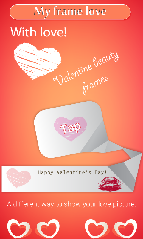 Valentine Love Frames - screenshot