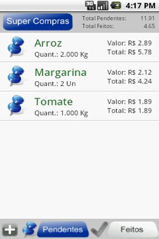 Shop List Lite- screenshot