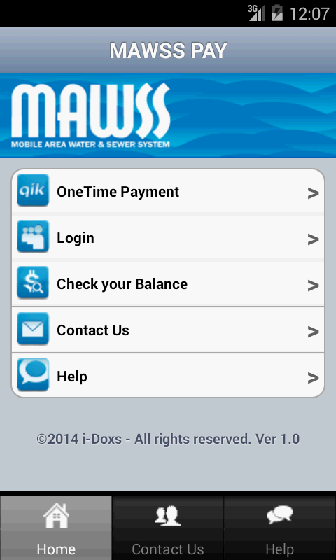 MAWSS PAY- screenshot