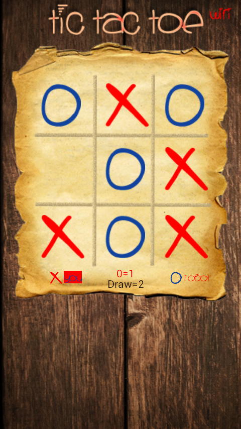 Tic Tac Toe Wifi- screenshot