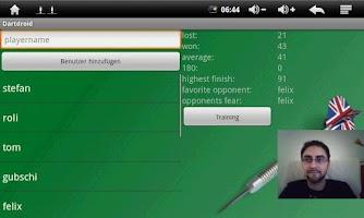 Screenshot of Dartdroid