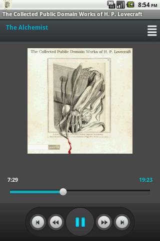 Audio book H. P. Lovecraft