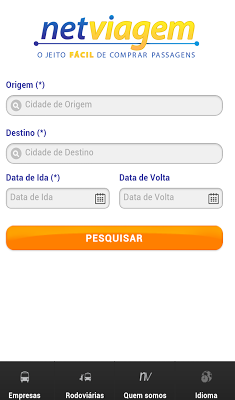 Netviagem - screenshot