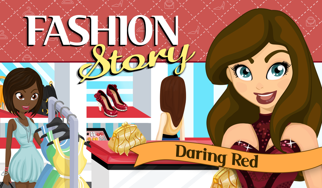 Fashion Story: Daring Red- screenshot