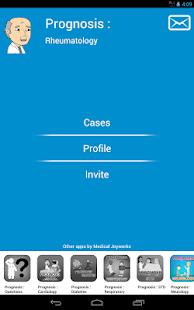 Prognosis : Rheumatology