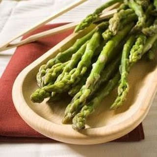 The Best Steamed Asparagus.