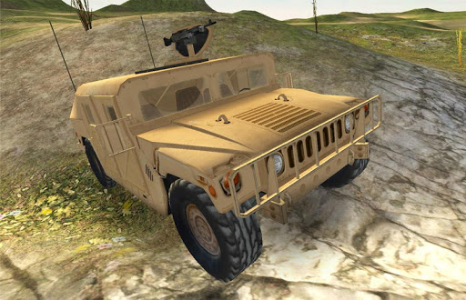 Military truck 3D