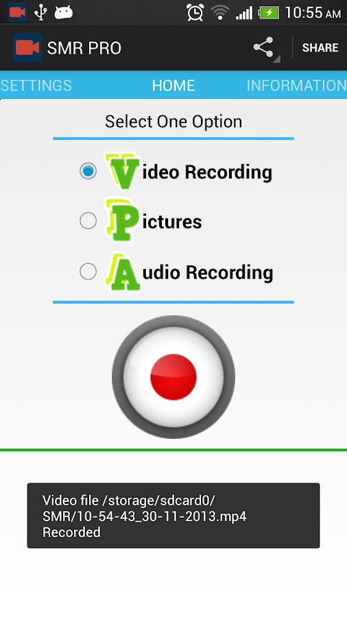Secret Video Recorder - PRO - screenshot