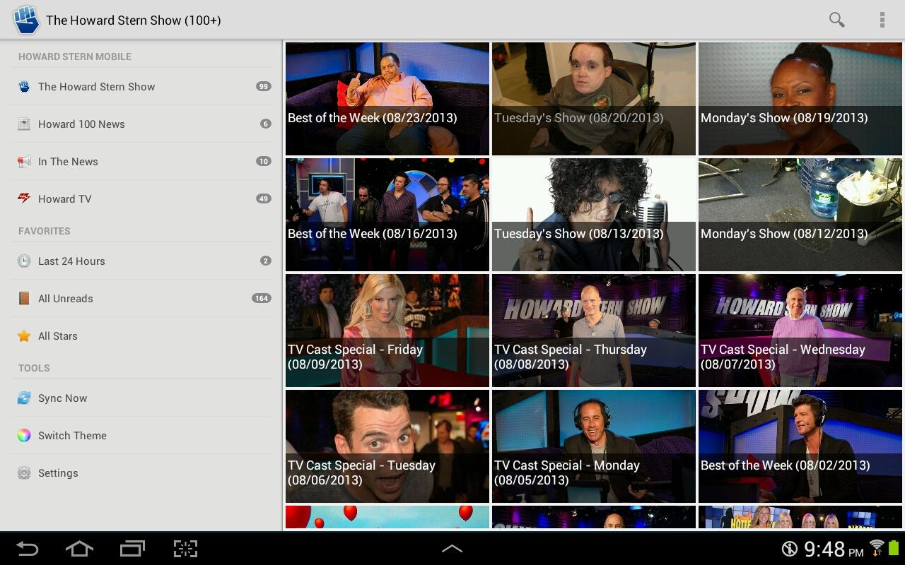 Howard Stern Mobile- screenshot
