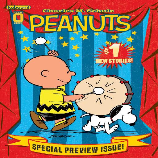 Peanuts Comics LOGO-APP點子