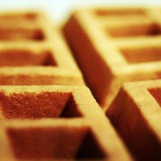 Soft Buttermilk Waffles.