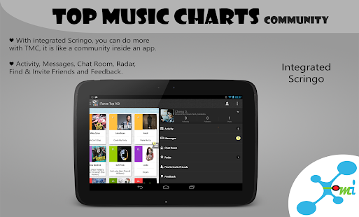 Top Music Charts for Android - screenshot thumbnail