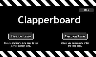 Screenshot of Clapperboard / Clapboard