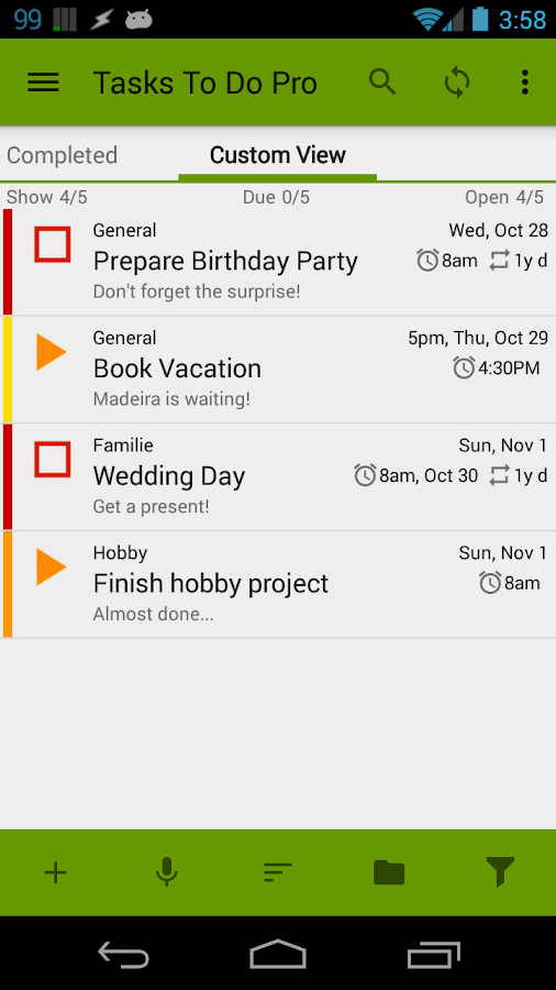 Tasks To Do Pro,  To-Do List- screenshot