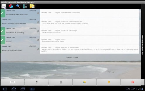 Melwin Mail - Email Client- screenshot thumbnail